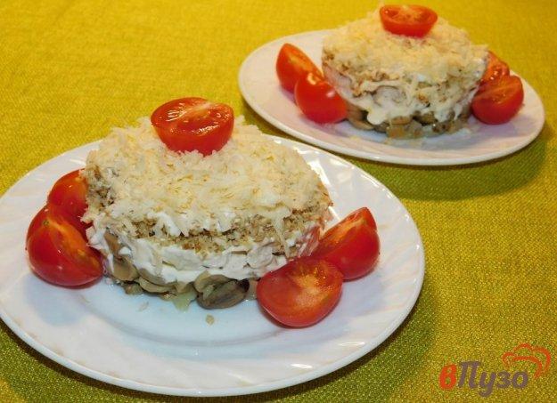 фото рецепта: Салат из курицы с грецким орехом