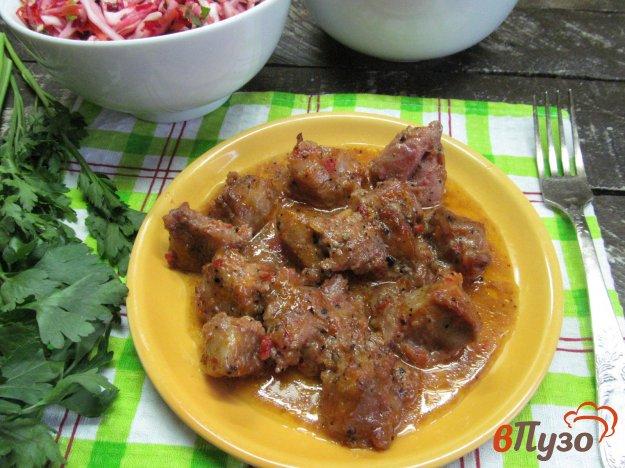 фото рецепта: Запеченное мясо в маринаде