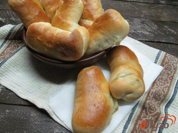 фото рецепта: Пирожки с картофелем и копченым беконом