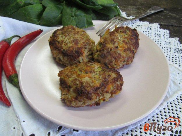 фото рецепта: Гречаники с мясным фаршем и овощами