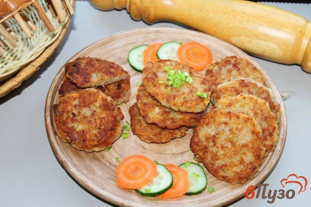 Котлеты мясные с картофелем