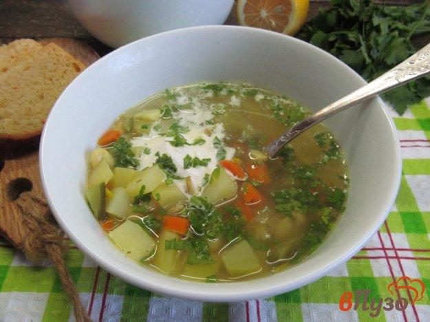 фото рецепта: Фасолевый суп с репой