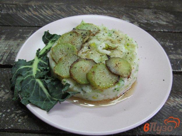 фото рецепта: Манная каша с брокколи