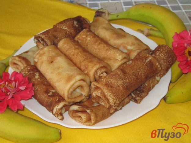 Банановые блины на кефире