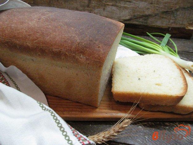 фото рецепта: Белый хлеб с майораном