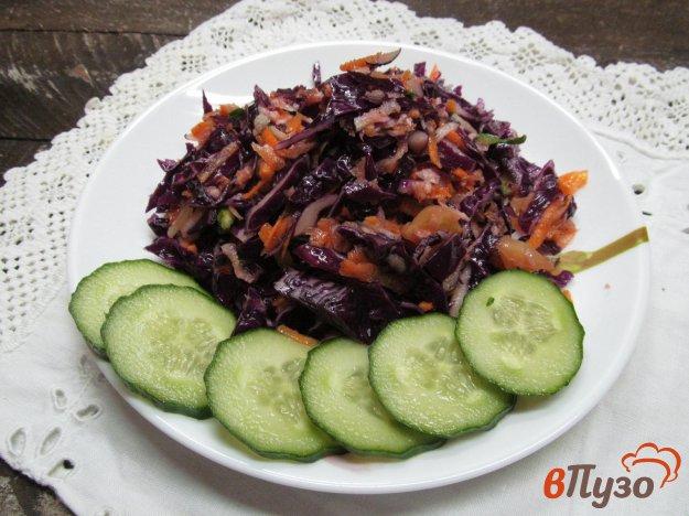 фото рецепта: Капустный салат с редькой