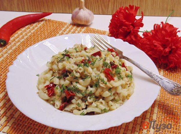 фото рецепта: Макароны по-флотски с вялеными томатами