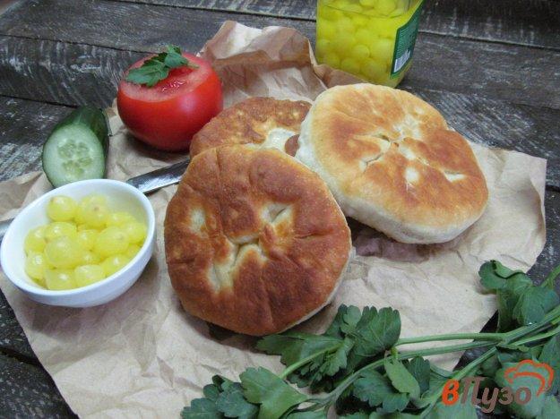 фото рецепта: Беляши с начинкой из мяса и грибов
