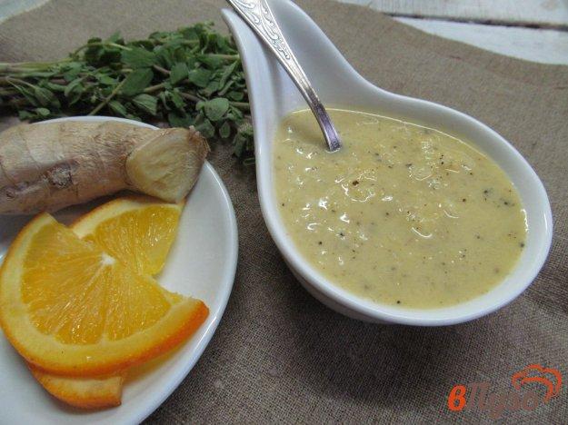 фото рецепта: Соус из апельсина с имбирем