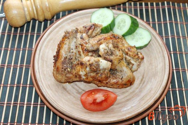 фото рецепта: Куриные крылья в лимонно - чесночном маринаде