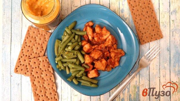 Курица с соусом карри
