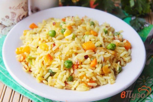 фото рецепта: Рис с карри и овощами