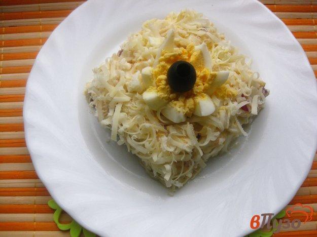 фото рецепта: Салат с кальмарами