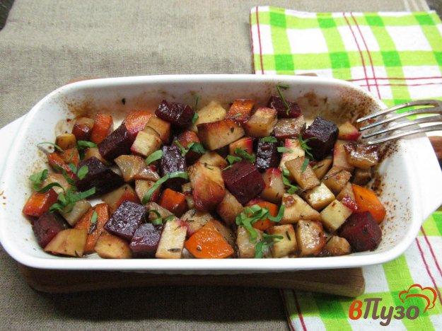 фото рецепта: Запеченные овощи под медовым маринадом