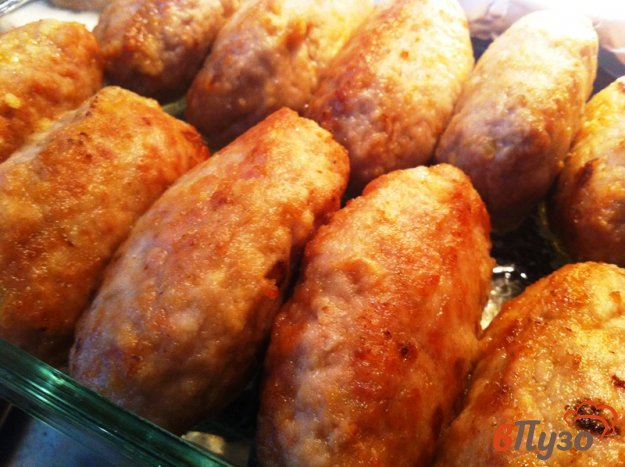 фото рецепта: Колбаски из фарша