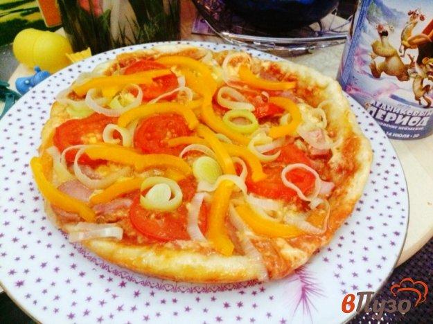 фото рецепта: Пицца в мультиварке