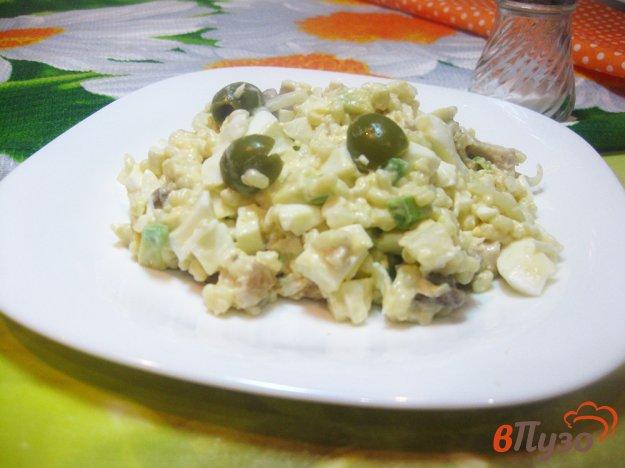 фото рецепта: Салат с авокадо и кус-кусом