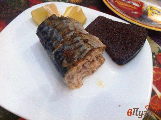 фото рецепта: Запеченная скумбрия