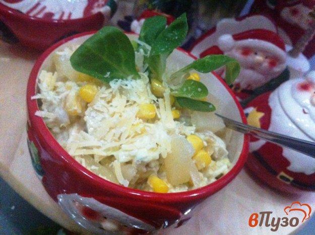 фото рецепта: Салат из кальмара