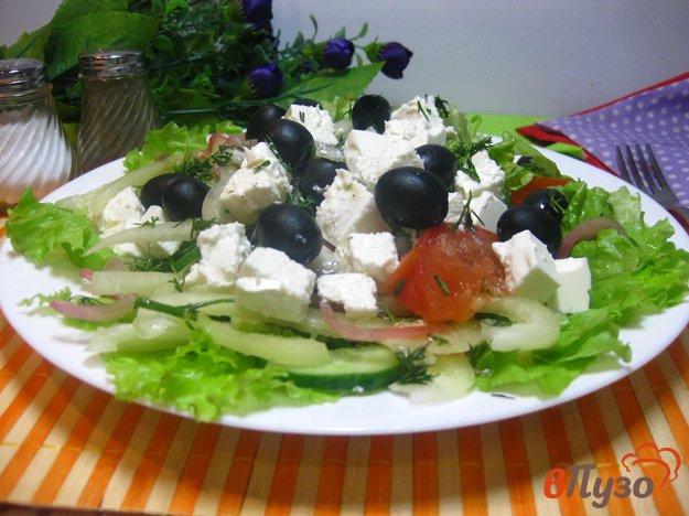 фото рецепта: Салат Греческий