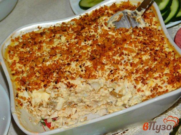 фото рецепта: Салат с курицей и грецкими орехами