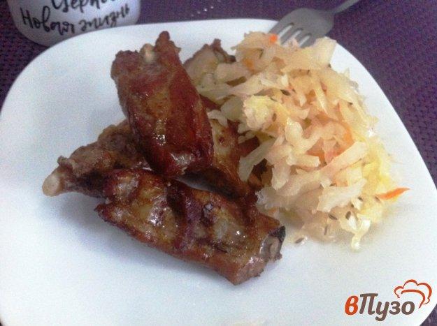фото рецепта: Свиные ребрышки в соусе барбекю