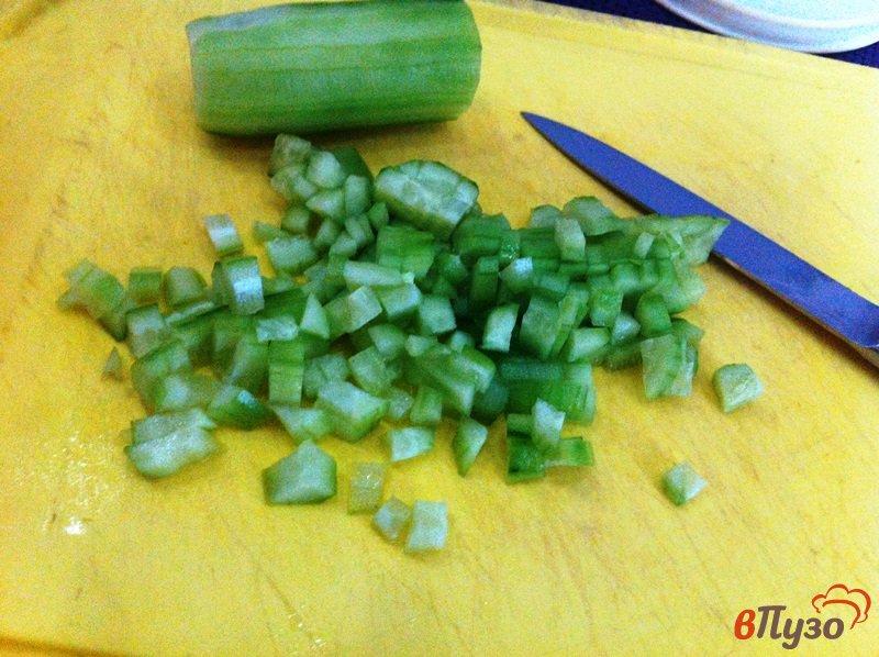 Фото приготовление рецепта: Салат мясной шаг №2