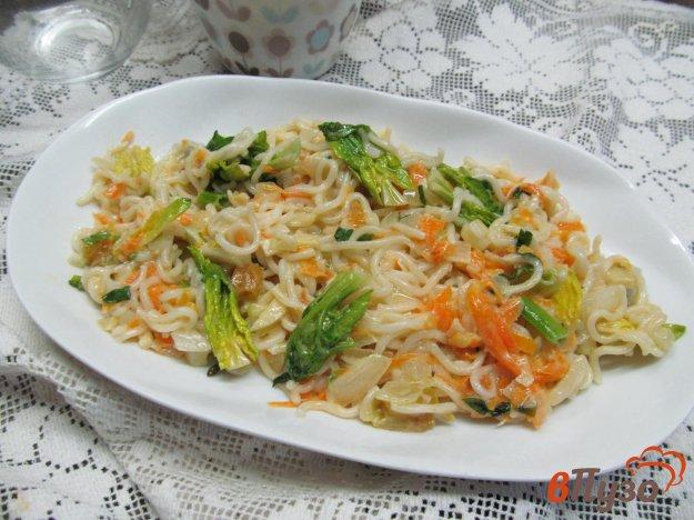 фото рецепта: Лапша в овощном соусе