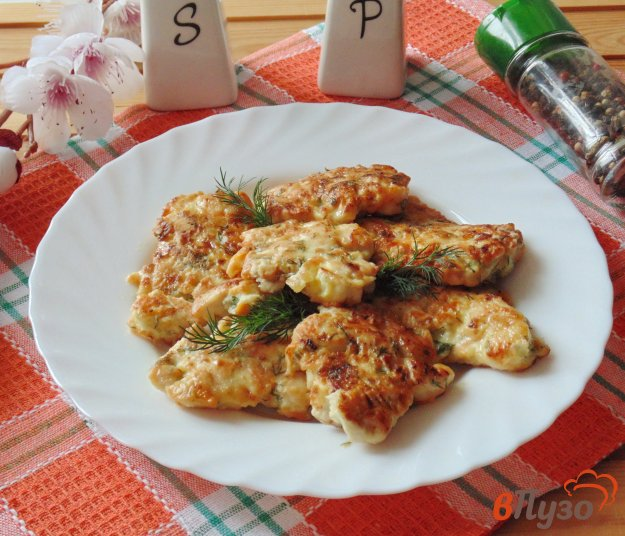 фото рецепта: Рубленые куриные котлеты с морковью и луком