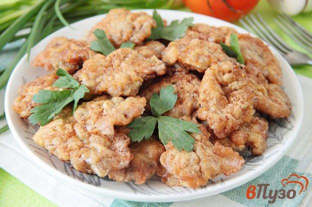 фото рецепта: Отбивные из куриных сердечек