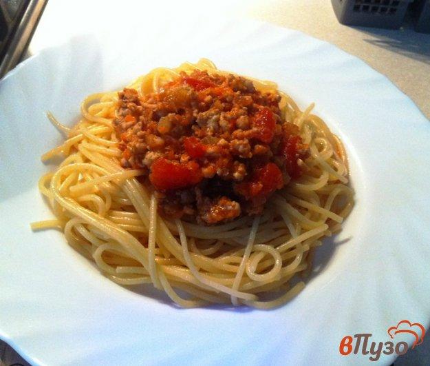 фото рецепта: Паста с соусом болоньеза