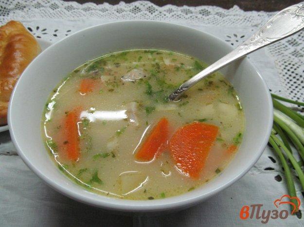 фото рецепта: Поливка - суп с бужениной и овощами