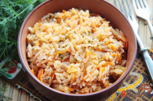 фото рецепта: Рис с овощами в томатном соусе