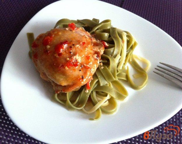 фото рецепта: Куриные бедрышки в остро-сладком маринаде