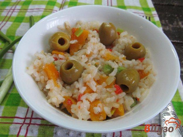 фото рецепта: Рис с тыквой и шалфеем