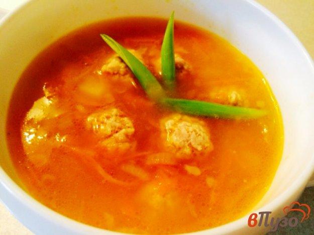 фото рецепта: Суп с фрикадельками