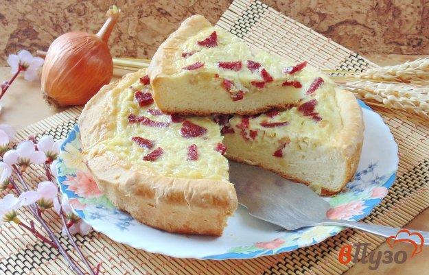 фото рецепта: Немецкий луковый пирог