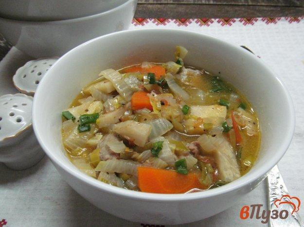фото рецепта: Суп-рагу из свинины с овощами