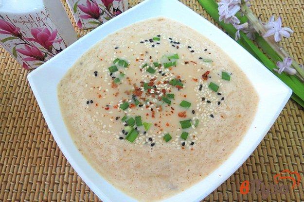 фото рецепта: Суп пюре с лососем и сливками