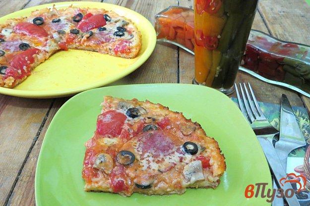 фото рецепта: *Пицца* макаронная