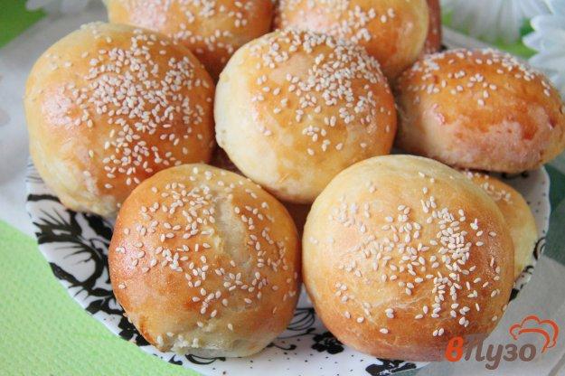 фото рецепта: Булочки на картофельном пюре