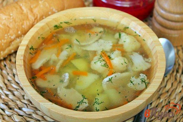 фото рецепта: Быстрый мясной суп с чечевицей и овощами
