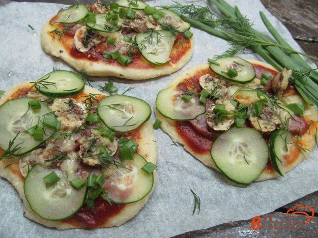 фото рецепта: Мини пицца