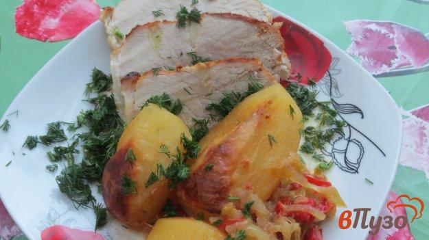 фото рецепта: Запеченная свинина с овощами