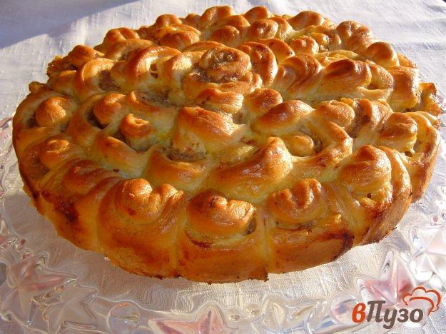 фото рецепта: Дрожжевой пирог с мясом
