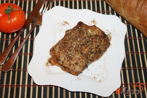 фото рецепта: Запеченная свинина с рукаве с соевым соусом и чесноком