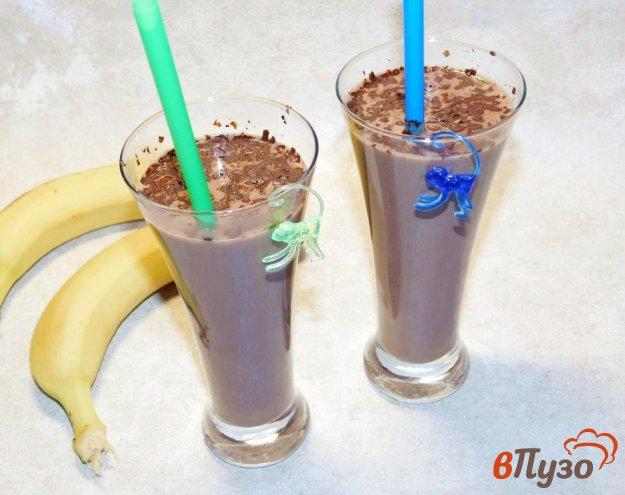 фото рецепта: Шоколадно-банановый горячий коктейль