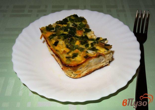 фото рецепта: Филе трески в яичной заливке