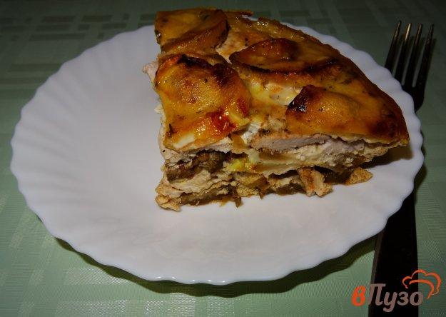 фото рецепта: Куриная грудка запеченная с овощами
