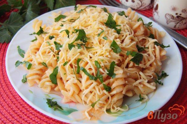 фото рецепта: Макароны в томатно-сметанном соусе